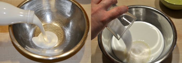Кефирный крем
