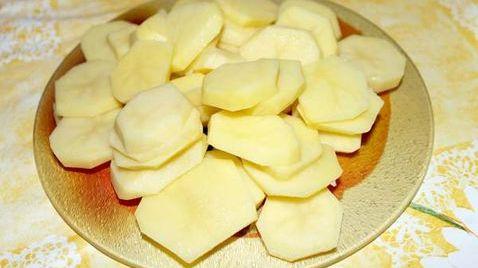 Картошка с грибами в горшочке «Сливочная»