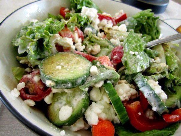 Фитнес-салат для вкусного ужина