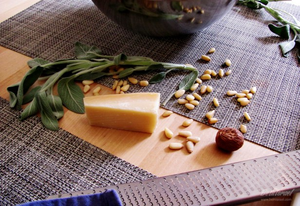 Клецки из сыра рикотта и шпината