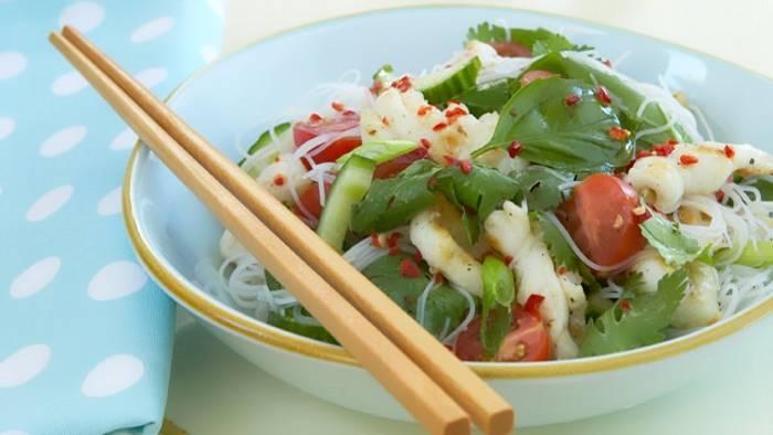 Вкусные постные салаты из морепродуктов рецепты с