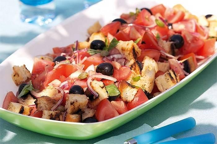 Томатный салат «Тосканский»