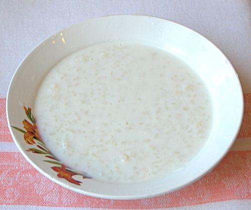 Рисовая каша молочная