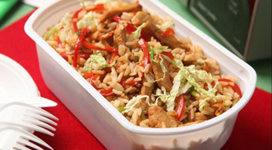 Салат с курицей по-китайски