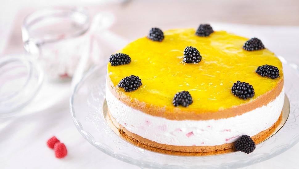 Легкий, вкусный и полезный фитнес-торт