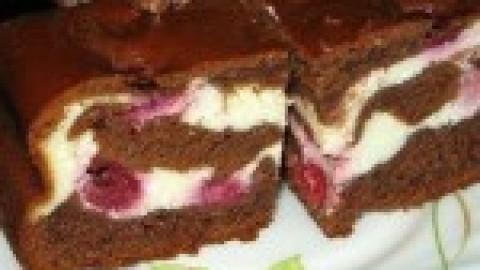 Пирог со смородиной «Летний привет»