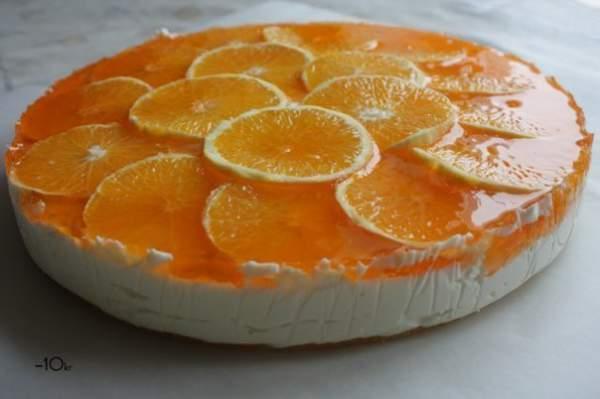 Творожный торт для стройных сладкоежек