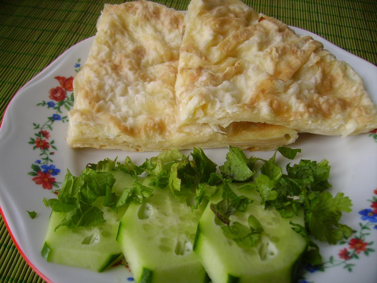 Закуска ёка с зеленью