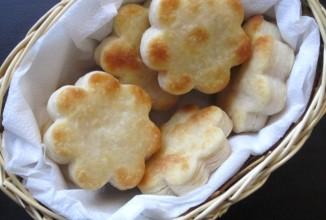 Чесночное печенье