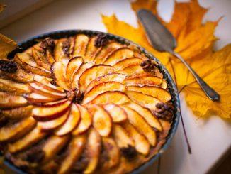 Яблочный пирог «По кочкам»