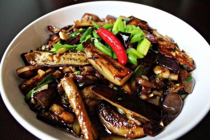 Приготовления баклажан по китайски
