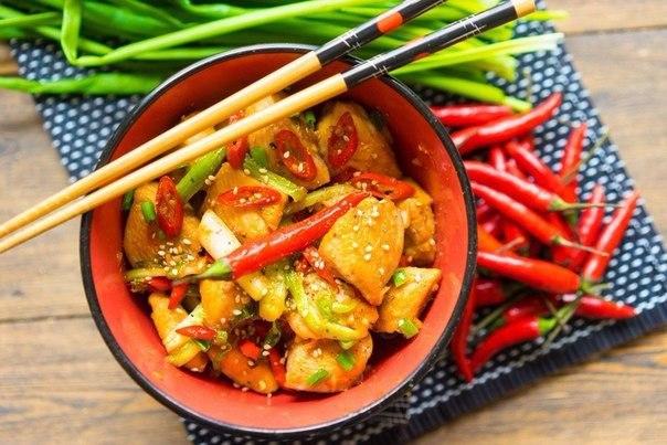 Курица гунбао (kung pao) — для самых крепких