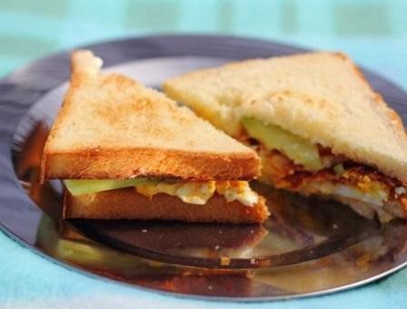 Яичные сандвичи для пикника или к завтраку