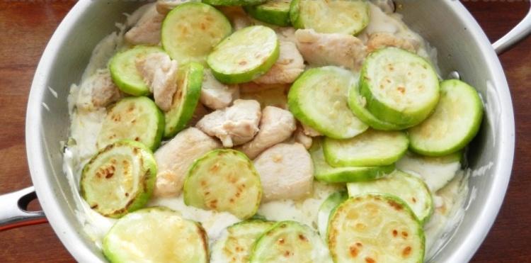 Рецепт кабачков быстрого поедания