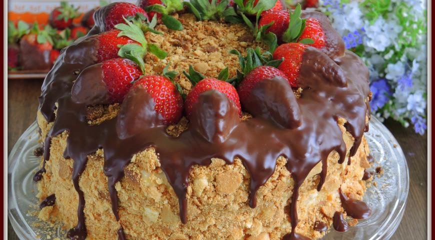 Торт «Наполеон» по-одесски