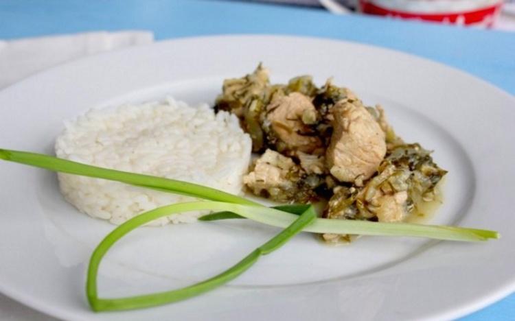 Тушеная индейка — рецепт