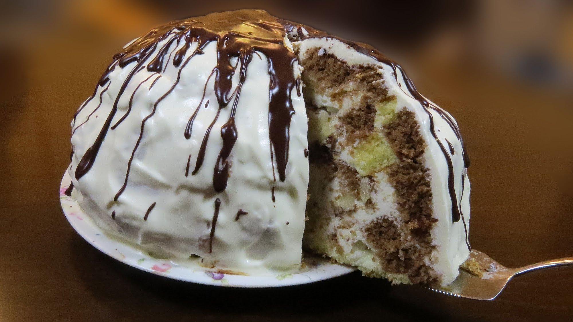 Торт пинчер рецепт с бананом