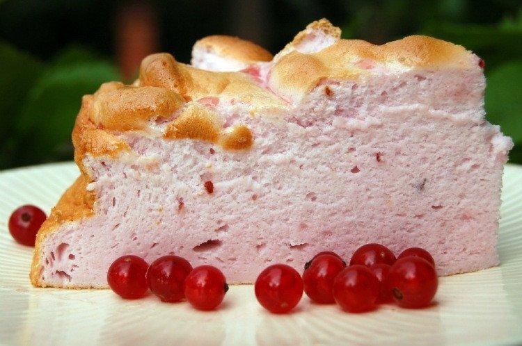 Воздушный торт «Розовое облако»