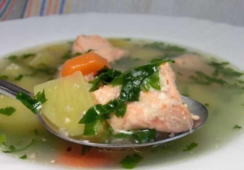 Суп рыбный из горбуши – рецепт