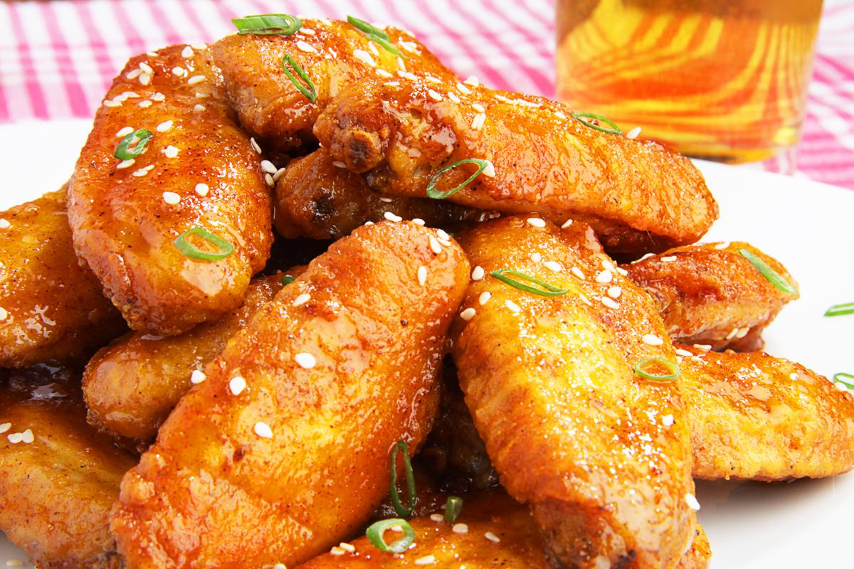 Курица в медово-горчичном соевом соусе в духовке рецепт