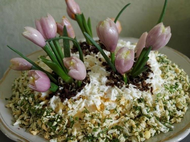 Салат «Цветущий сад»