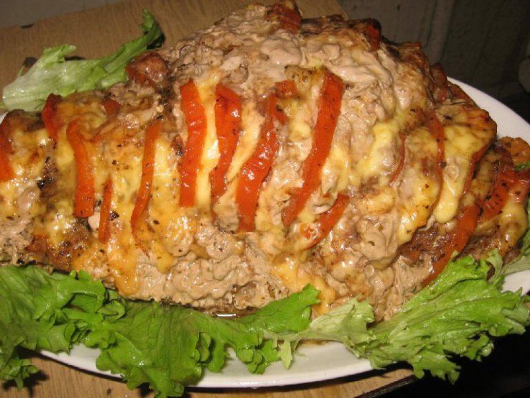 Рецепт свинина с шампиньонами и помидорами