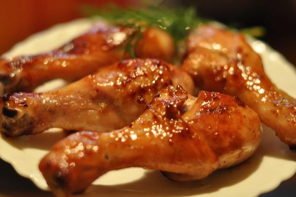 Курица с соевым соусом
