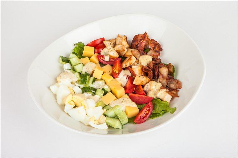 Американская классика: Кобб салат