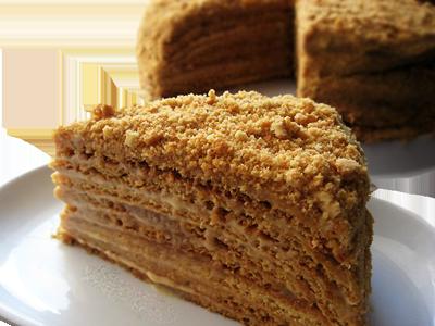 Торт рыжик рецепт со сгущенкой