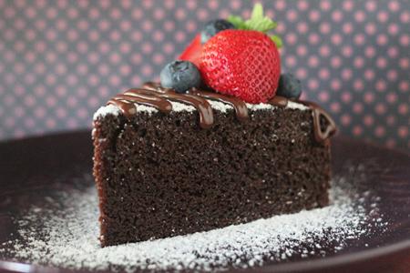 Шоколадный торт Нежный