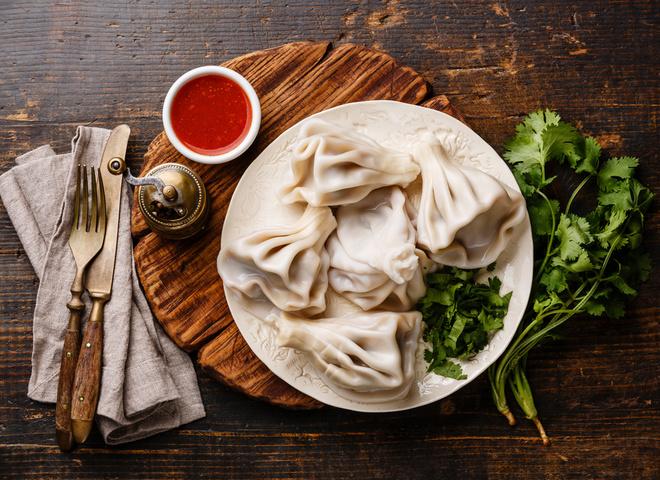 Хинкали с мясом: рецепт грузинской кухни