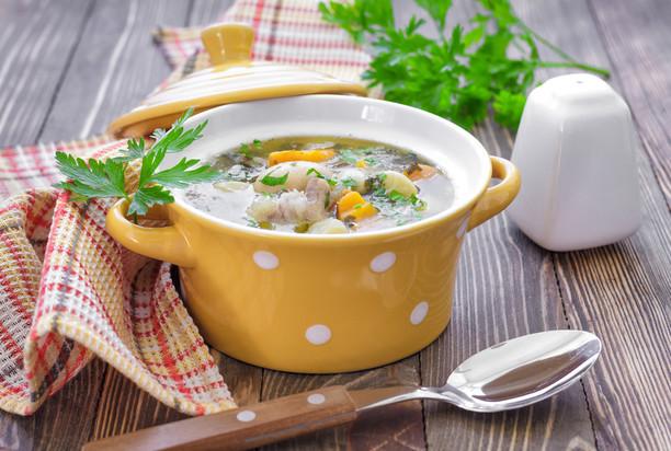 Простой, но очень вкусный суп с куриными сердечками