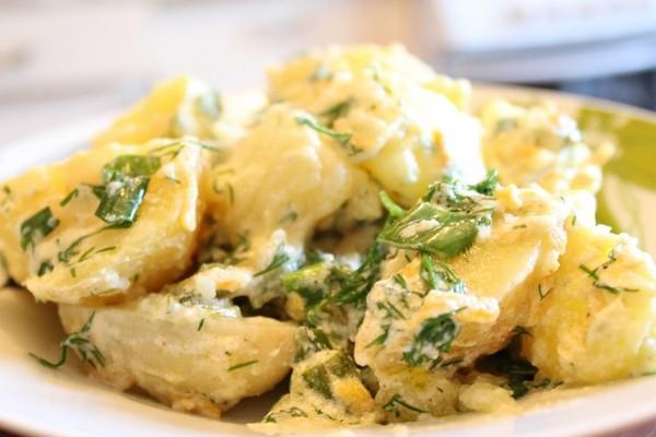 Картофель в сметане на гарнир