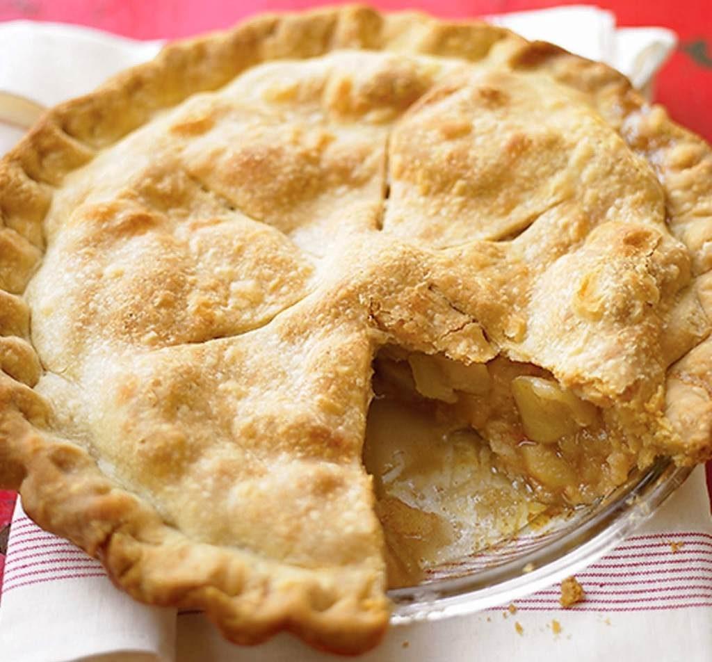 Вкусный рецепт пирога с яблоками