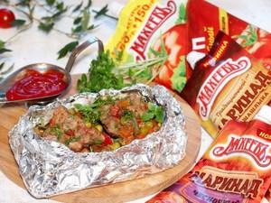 Свиное рагу с мексиканской овощной смесью
