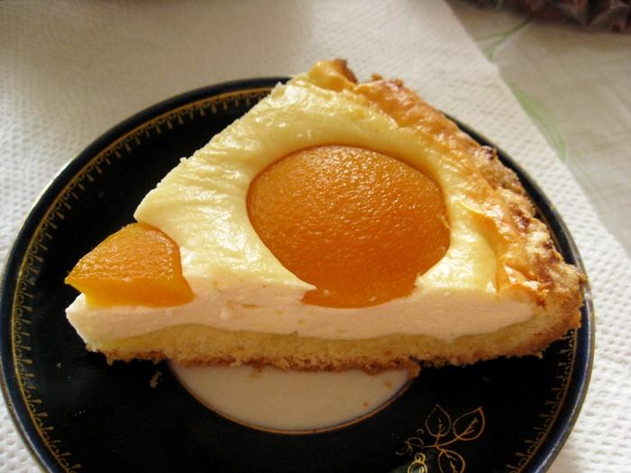 Творожный пирог «Яичница»