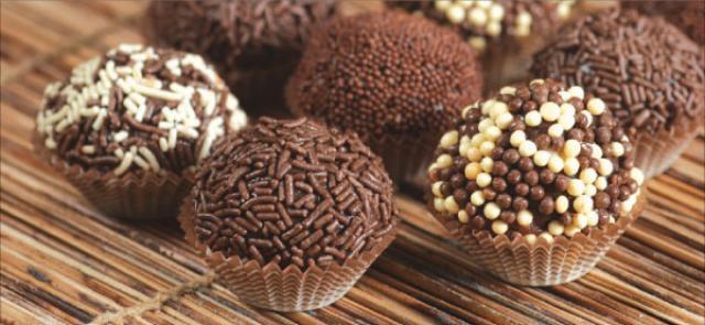 Бразильские конфеты Бригадейро