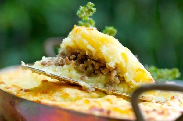 Запеканка из сырого картофеля с кабачками