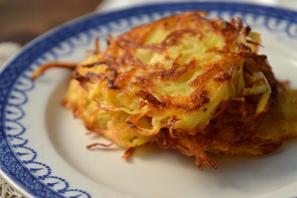 Драники-латкес из картофеля