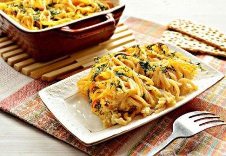 Спагетти на обед