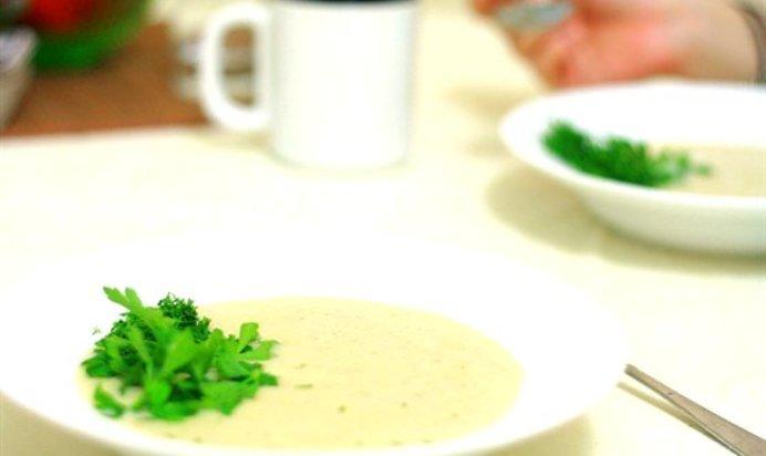 Картофельно-луковый суп-пюре
