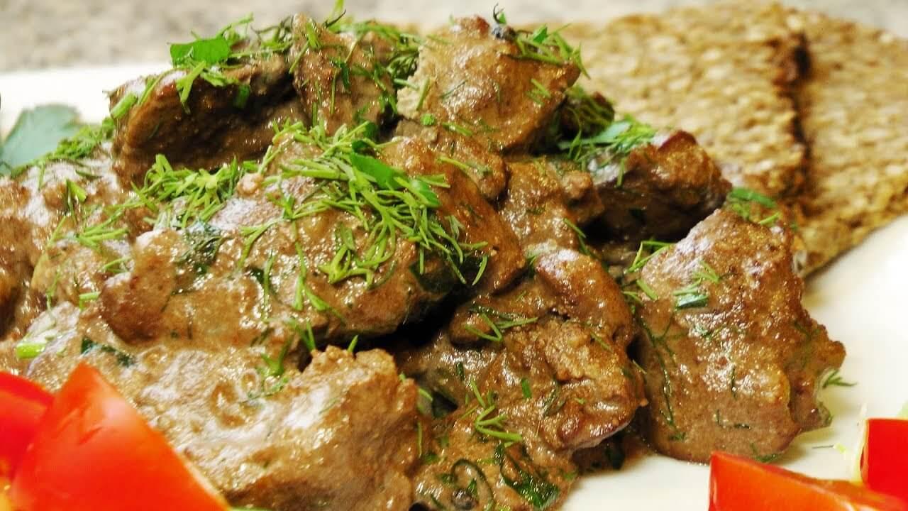 Блюда из курицы печени рецепты