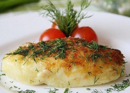 Картофельные зразы с луком и яйцом