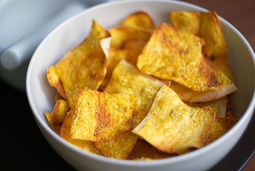 Чипсы – вкусная закуска из лаваша без вредностей