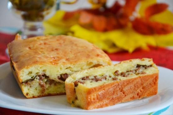 Пирог с фаршем: пошаговые рецепты для мясного пиршества