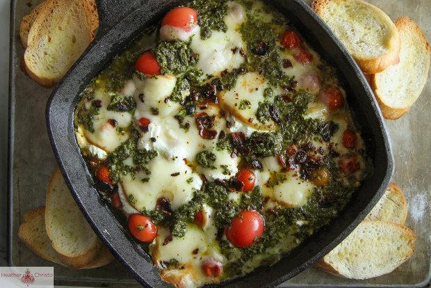 Горячий сыр по-итальянски