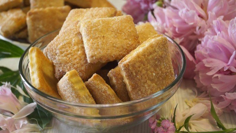 Печенье на пиве и сметане