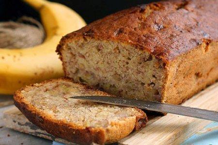Банановый хлеб — это очень вкусно