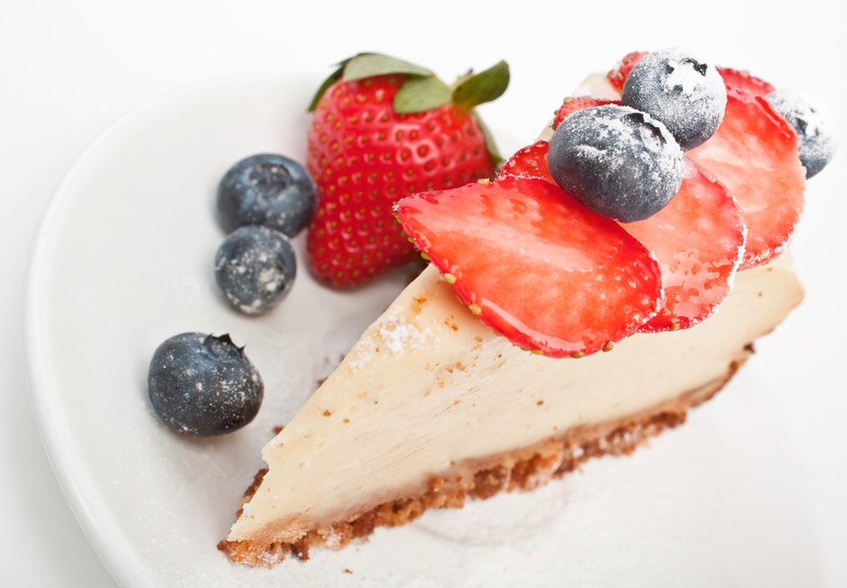 Рецепт классического Чизкейка с ягодами