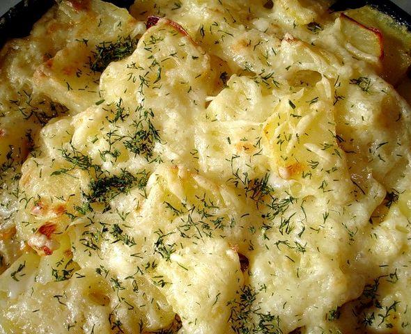 Картофель по-польски в духовке